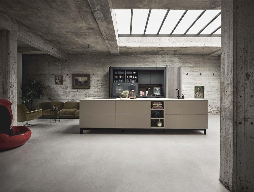 Offener Wohn- und Küchenraum: ja. Doch muss die Küche letztlich als solche erkennbar sein? (Foto: next125)