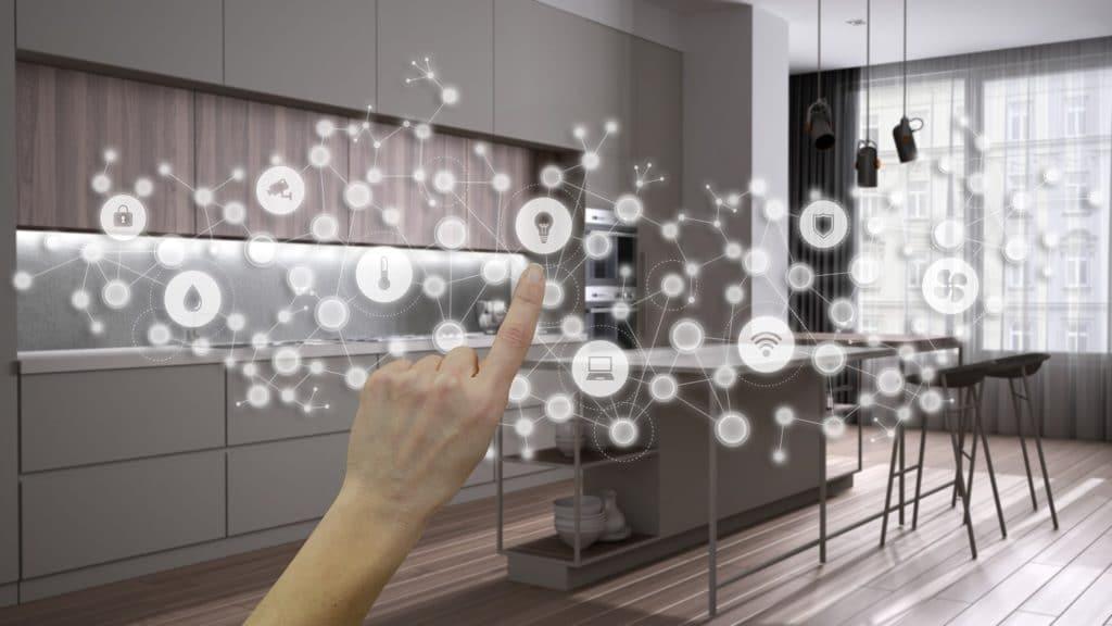 Das Smart Home birgt viele Vorteile und Chancen für die Küche - allem voran aber sorgt es auch für mehr Nachhaltigkeit in der Nutzung. (Foto: stock/ ArchiViz)