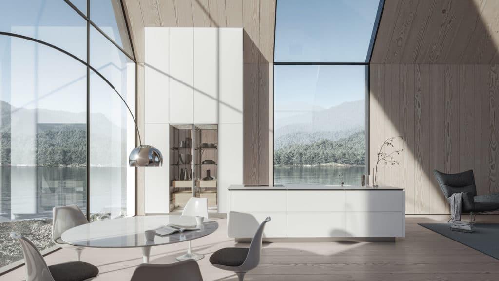 Was bleiben soll: SieMatics Aufstellung als elegante Premiummarke. Was kommt: die Öffnung hin zum Wohnbereich und Wohlgefühl einer digitalen Generation, die Lust an Luxus und Wertigkeit verspürt. (Foto: SieMatic)