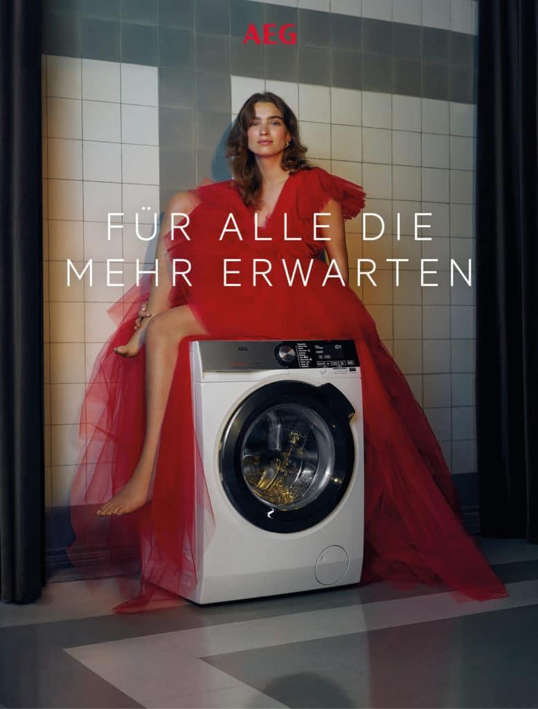 Jung, dynamisch, fordernd: AEG zeigt sich mit seiner Werbekampagne 2021 in völlig überraschendem Gewand. (Foto: AEG)