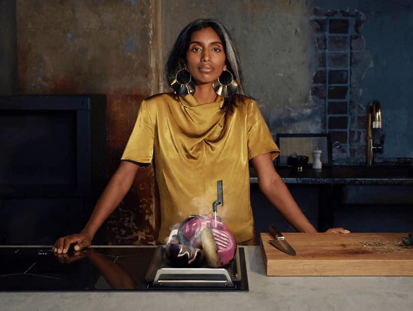 Die Testimonials: selbstbewusst, natürlich, multikulturell. Das Essen: gesund und nachhaltig. Der neue Fokus des Unternehmens besticht mit Offenheit und Mut. (Foto: AEG)