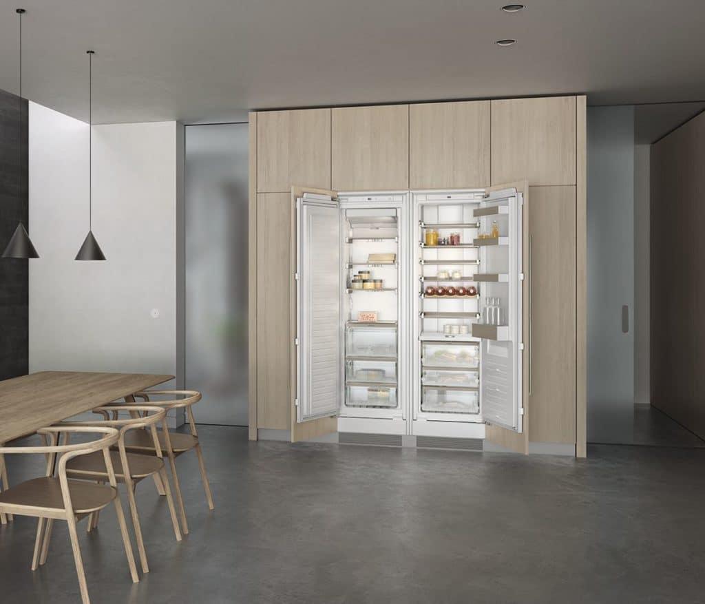 Hat ein Update in Sachen Design und Funktionen erfahren: die Gaggenau Kühlgeräte-Serie 200. Foto: Gaggenau)