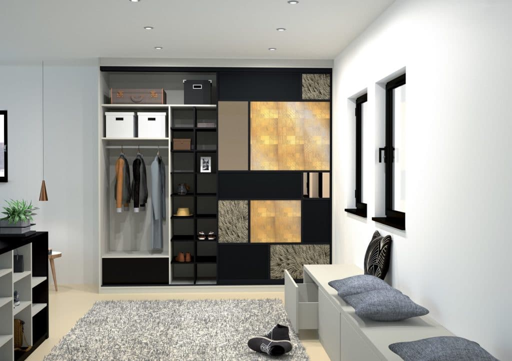 Begehbare Ankleiden, Schiebetüren für Räume und Garderoben, individuelle Möbelsysteme: all das können Kunden nach dem Hand-in-Hand-Prinzip bei der Fa. Grässle erwerben. (Foto: In-Ipso)