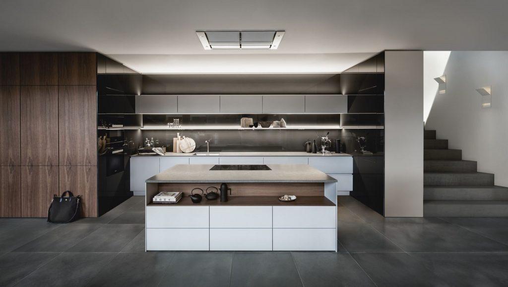 Wie sieht die Küche zum Wohlfühlen aus, in der Sie nach getaner Arbeit Ihre Tasche abstellen und relaxen möchten? (Foto: SieMatic)