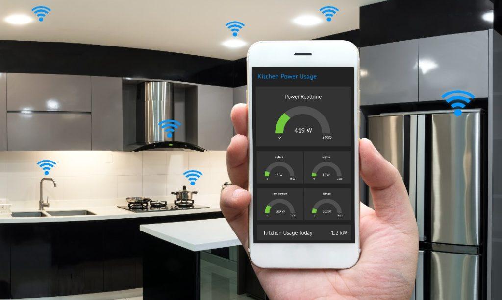 Anschlüsse in der Küche: Smart Home