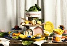 "Die aktuelle Serax-Kollektion ""Feast Tableware"", die vom berühmten Chefkoch Yotam Ottolenghi gestaltet wurde. (Foto: SERAX)"