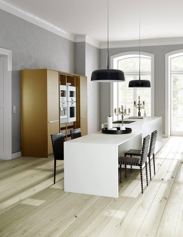 Eine elegante, klare Designsprache und wohnliche Planungsideen zeichnen allmilmö aus. (Foto: allmilmö)
