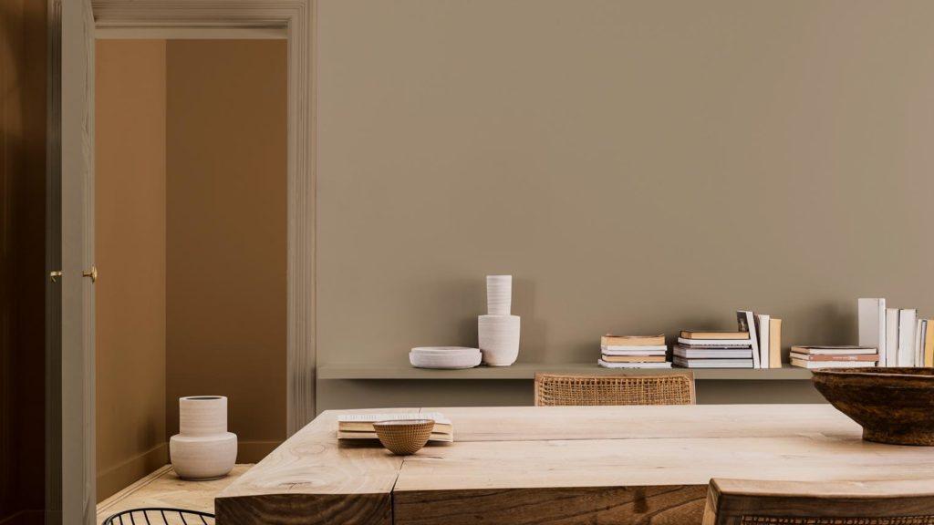 """Klar - eine gute Deckkraft ist eines der wichtigsten Kriterien für eine Wandfarbe. In der Küche sollte die Wahl jedoch auch auf eine Farbe fallen, die die Wand """"atmen"""" lässt. (Foto: Dulux)"""