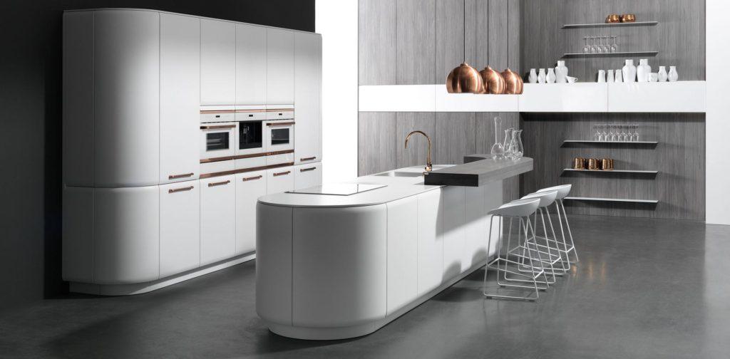 rational wagt innovative Designkonzepte mit seinen Küchen, ist aber auch im gehobenen Einstiegssegment zu finden. (Foto: rational)