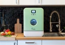 Das ist Bob, der Mini-Geschirrspüler. Ein cleveres Produkt aus Frankreich, das die mobile Küche bereichern dürfte. (Foto: Daan Tech)