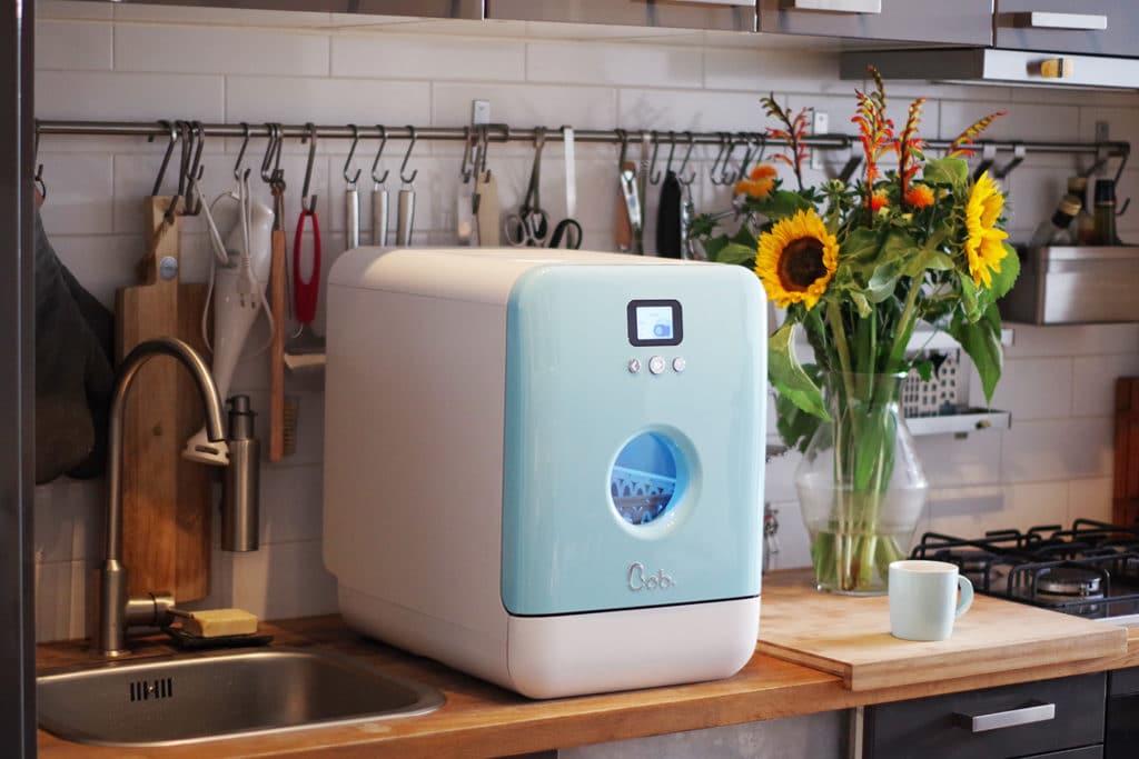 Nachhaltig ist der Mini-Geschirrspüler auf gewisse Weise schon. Speziell beim Energieeffizienzlevel muss aber dringend nachgearbeitet werden. (Foto: Daan Tech)