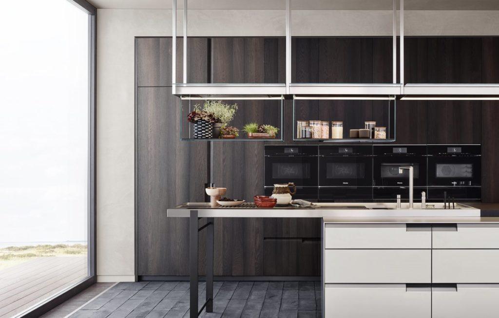 Seit jeher prägt italienisches Küchendesign auch unsere Küchen hierzulande. Nun könnte bald ein neuer Techniktrend herüberschwappen. (Foto: Poliform)