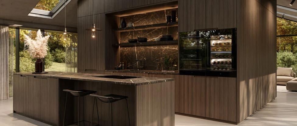 Raffinierte Methoden zum Spülen, Reinigen und Kochen mit Dampf treffen bei V-ZUG auf ein überaus edles Ambiente. Prädikat: empfehlenswert. (Foto: V-ZUG)