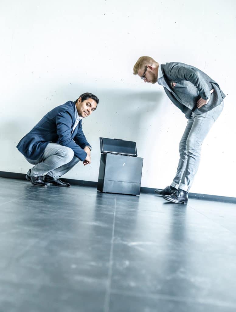 FreezyBoy ist eine Marke des Luzerner Start-Ups AVANTYARD LTD. und in der recyclingbewussten Schweiz bereits ein Begriff. (Foto: FreezyBoy)