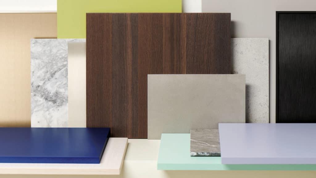 Edle Materialien, ungewöhnliche Farbtöne: Die Luxusmarke wagt 2021 den Turnaround. (Foto: SieMatic)