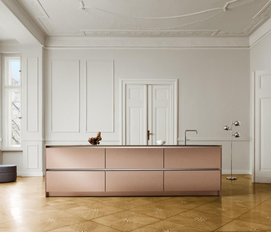 Hochwertig, minimalistisch und doch deutlich reduzierter als die SLX ist das Modell der S2. (Foto: SieMatic)