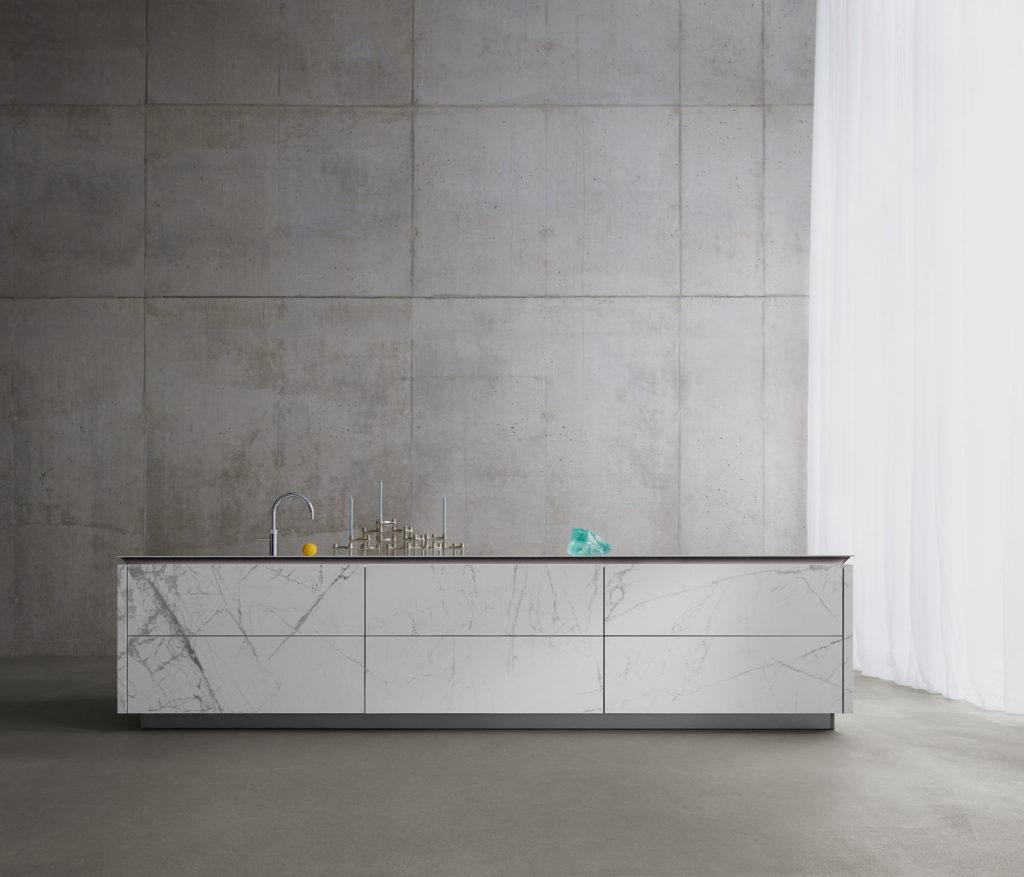 Absolut puristisch - mit architektonischer Note: die neue SLX stellt künftig das Nonplusultra der Luxusmarke dar. (Foto: SieMatic)