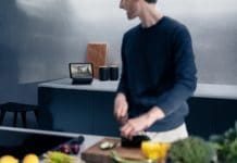 """Neuigkeiten von der (digitalen) IFA 2021: Siemens stellt seinen Kundinnen und Kunden mit dem """"Smart Kitchen Dock"""" einen digitalen Helfer zur Seite. (Foto: Siemens)"""