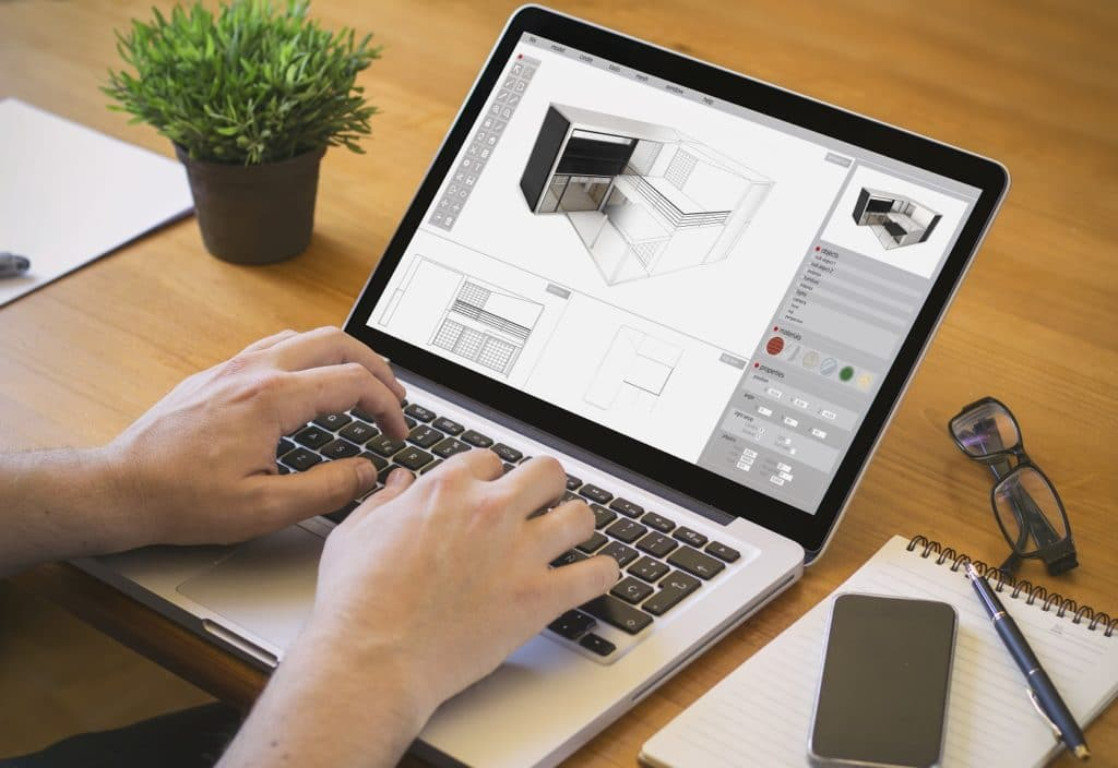 Mit einer CAD-Planung können innenarchitektonische Projekte oder Raumplanungen realistisch angegangen werden. (Foto: stock/ MclittleStock)