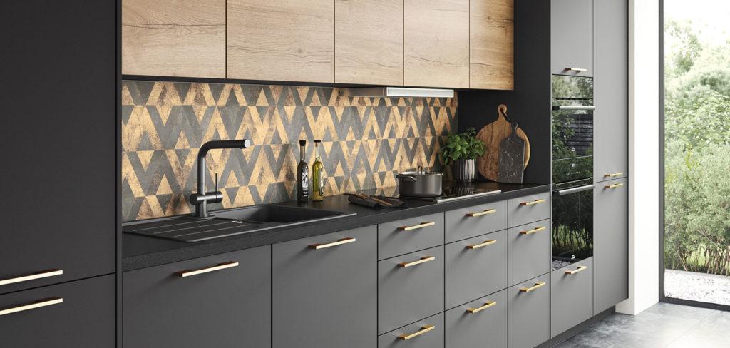 Ein Dekor kann beispielsweise für die Küchenrückwand genutzt werden und dort eindrucksvolle Akzente setzen. (Foto: nobilia)