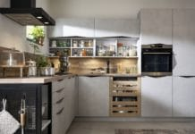 """Nachhaltige Küche von SCHMIDT: """"Origin Twist"""". (Foto: SCHMIDT Küchen)"""