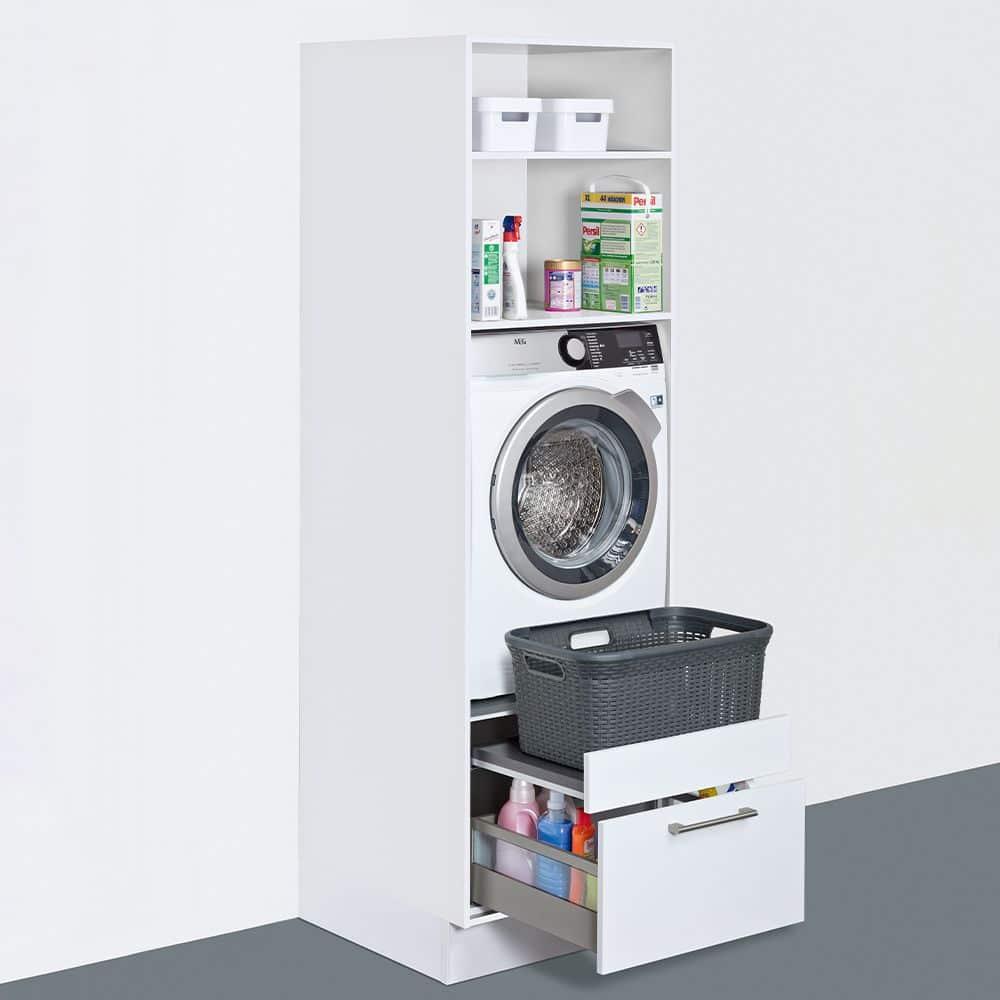 Eine thematische Gruppierung erleichtert den Handgriff für jeden Bereich: hier ein Beispiel für den Wäscheschrank. (Foto: Schüller)